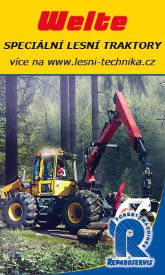 Reparoservis WELTE speciální lesní traktory