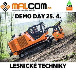 MALCOM demo day lesnické techniky