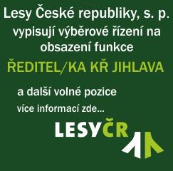 LČR - volná pracovní místa KŘ Jihlava