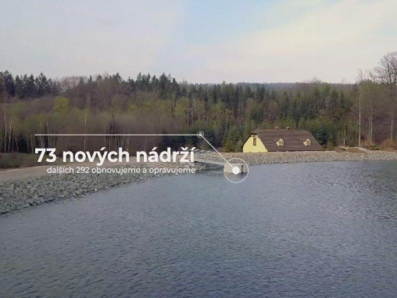 Video k projektu Lesů ČR: Vracíme vodu lesu