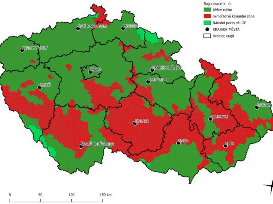 Rajonizace lesů kvůli kůrovci se rozšiřuje do dalších oblastí