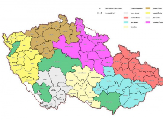 Lesy ČR připravují reorganizaci a zřizují Závod lesní techniky
