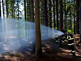 Počet požárů v celé ČR rychle stoupá