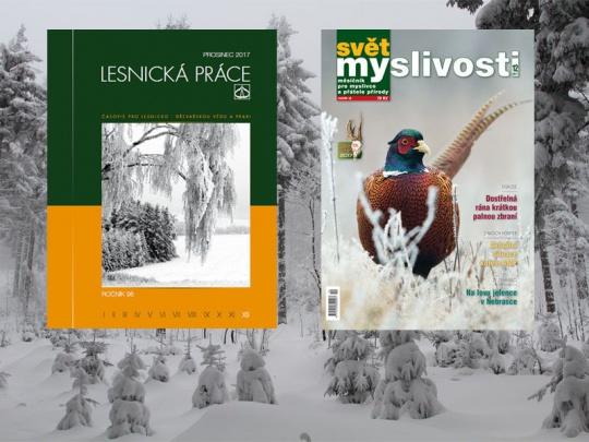 Předplatné Lesnické práce a Světa myslivosti – dárek, který potěší